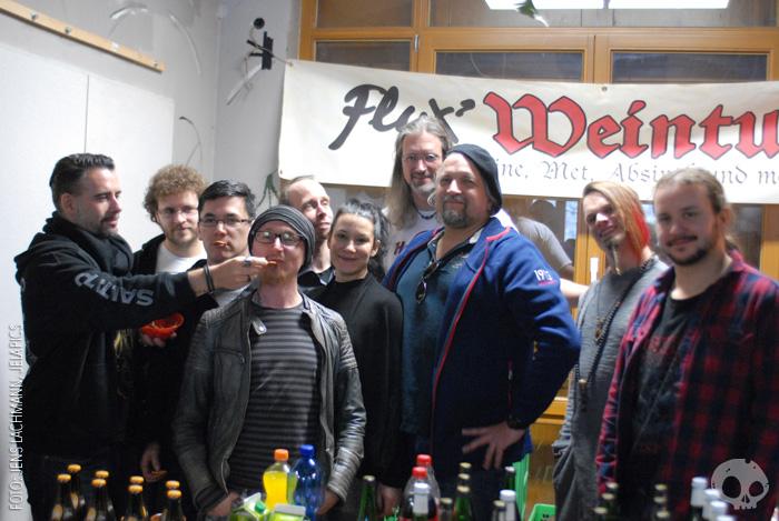 Flux Weinturm beim Totentänzer-Treffen