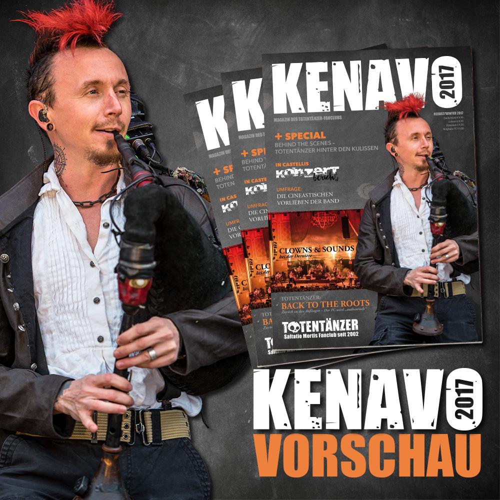 Vorschau des Kenavos - Totentänzer-Fanclub-Magazin