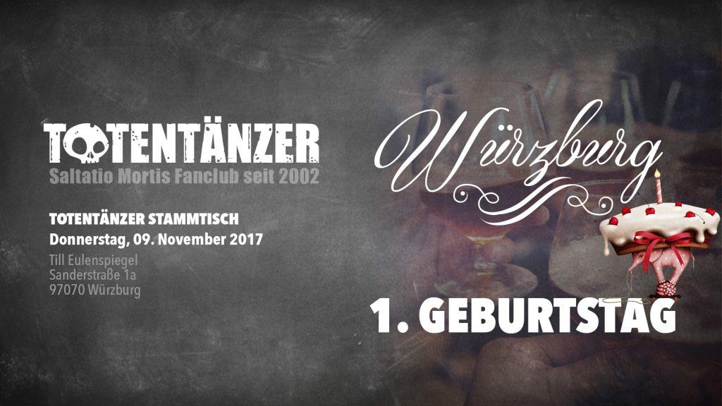 Totentänzer Stammtisch Würzburg